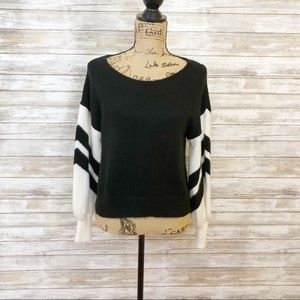 Express Black And White Sweater Size XS
